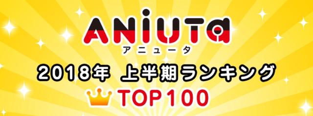 「アニュータ」2018年アニソンランキングTOP100を発表!