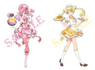 『キラッとプリ☆チャン』アニメシリーズ初のコラボカフェがオープン! 描き下ろしキャラクターを使用したカフェ限定グッズも多数展開!