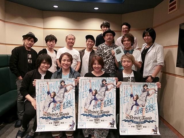 『テニスの王子様 BEST GAMES!! 手塚 vs跡部』置鮎龍太郎、諏訪部順一、皆川純子らのコメント到着