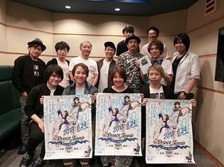 『テニスの王子様 BEST GAMES!! 手塚 vs跡部』より、置鮎龍太郎さん、諏訪部順一さん、皆川純子さんからのコメント到着!