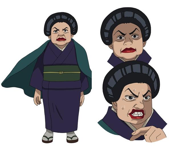 ▲女将(CV.橘U子さん)