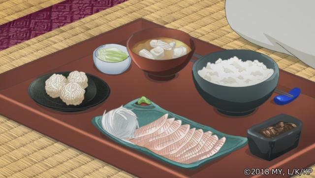『かくりよの宿飯』第24話「玉の枝サバイバル。」の先行場面カット公開! 葵は銀次、乱丸、チビとともに水墨画の世界に向かう-6