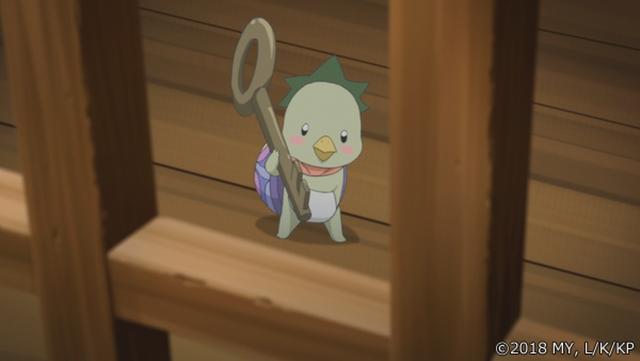 『かくりよの宿飯』第24話「玉の枝サバイバル。」の先行場面カット公開! 葵は銀次、乱丸、チビとともに水墨画の世界に向かう-10