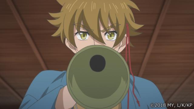 『かくりよの宿飯』第24話「玉の枝サバイバル。」の先行場面カット公開! 葵は銀次、乱丸、チビとともに水墨画の世界に向かう-19