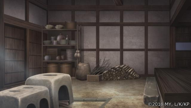 『かくりよの宿飯』第24話「玉の枝サバイバル。」の先行場面カット公開! 葵は銀次、乱丸、チビとともに水墨画の世界に向かう-28