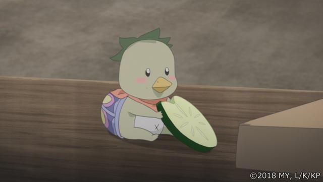 『かくりよの宿飯』第24話「玉の枝サバイバル。」の先行場面カット公開! 葵は銀次、乱丸、チビとともに水墨画の世界に向かう-34