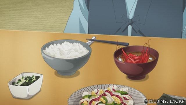 『かくりよの宿飯』第24話「玉の枝サバイバル。」の先行場面カット公開! 葵は銀次、乱丸、チビとともに水墨画の世界に向かう-35