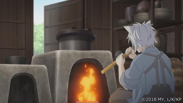 『かくりよの宿飯』第24話「玉の枝サバイバル。」の先行場面カット公開! 葵は銀次、乱丸、チビとともに水墨画の世界に向かう-31