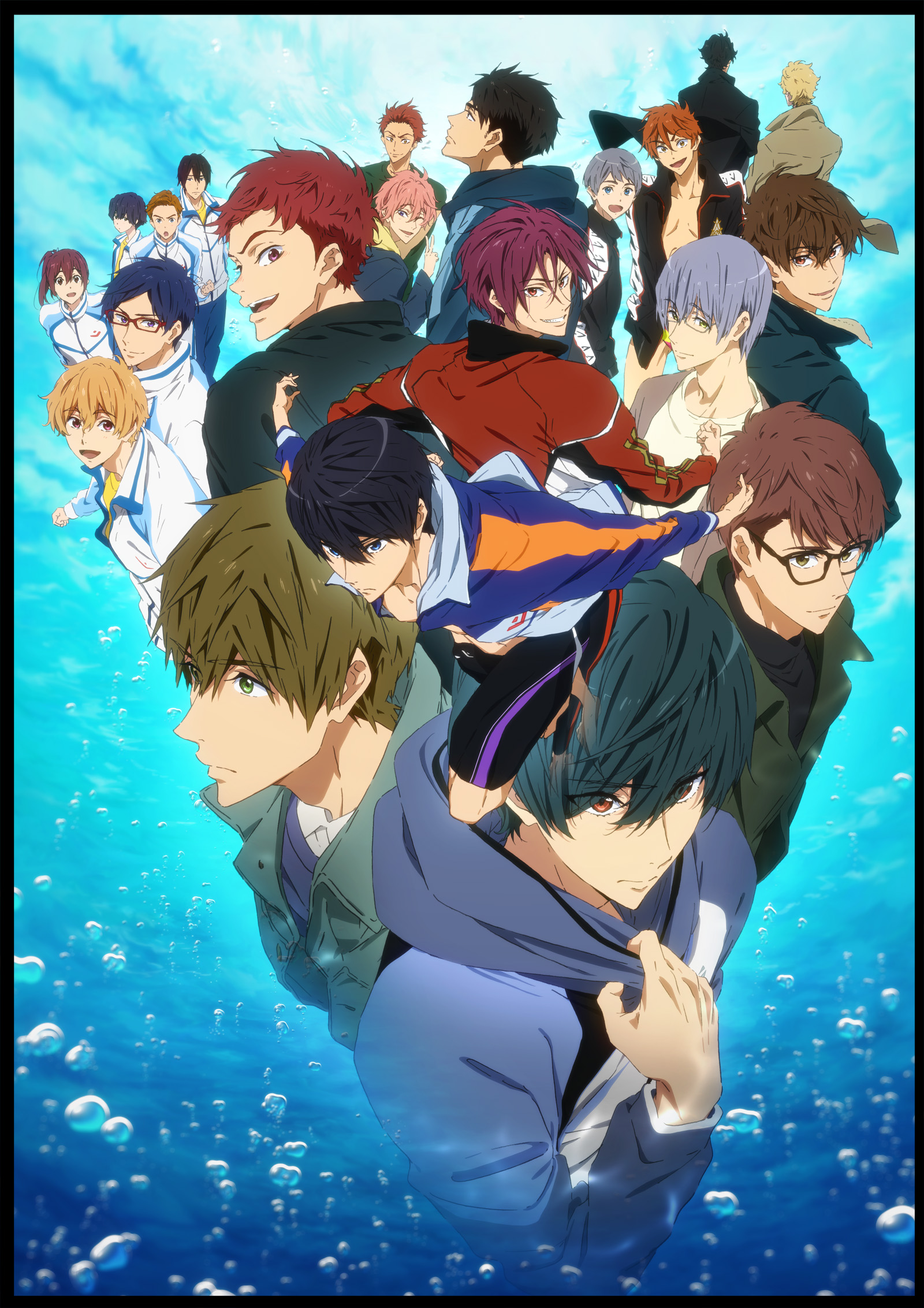 ▲画像は『Free!-Dive to the Future-』
