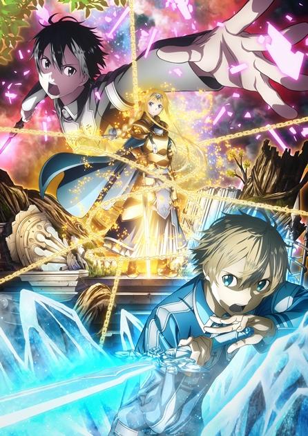 『ソードアート・オンライン アリシゼーション』第2弾キービジュアル&新PV解禁