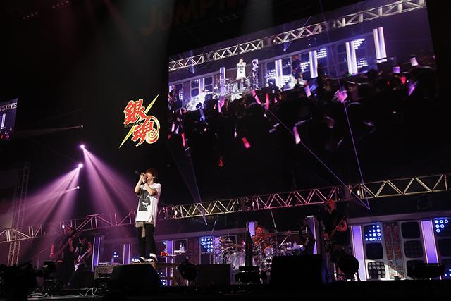 ▲「ジャンプミュージックフェスタ」でのライブの様子