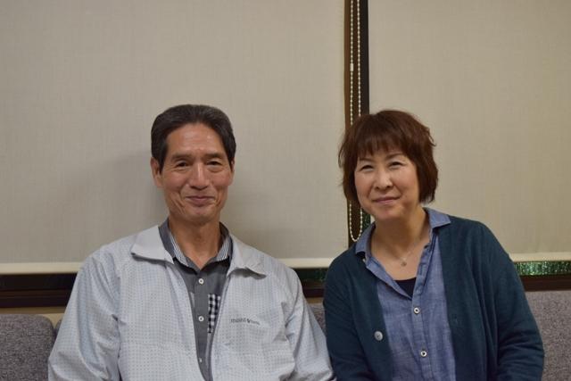 ▲左から幹本雄之さん、安達忍さん