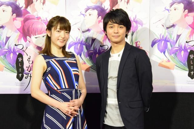 ▲(左)小松未可子さん(右)榎木淳弥さん