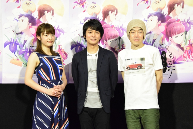 ▲左より小松未可子さん、榎木淳弥さん、むらた雅彦監督
