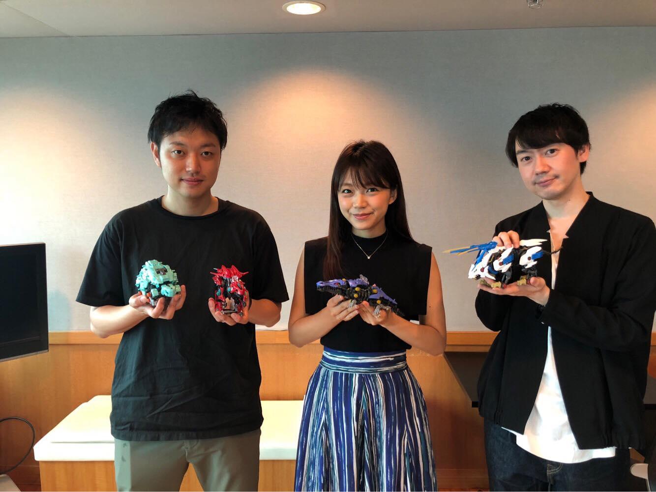 『ゾイドワイルド』のラジオ番組「ゾイドワイルド~本能解放ラジオ~」が放送開始! 声優陣が入れ替わりで出演し、様々なコーナーに挑戦