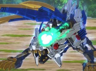 TVアニメ『ゾイドワイルド』第2話あらすじ&先行場面カットが到着! ワイルドライガーに拒絶されたアラシは……