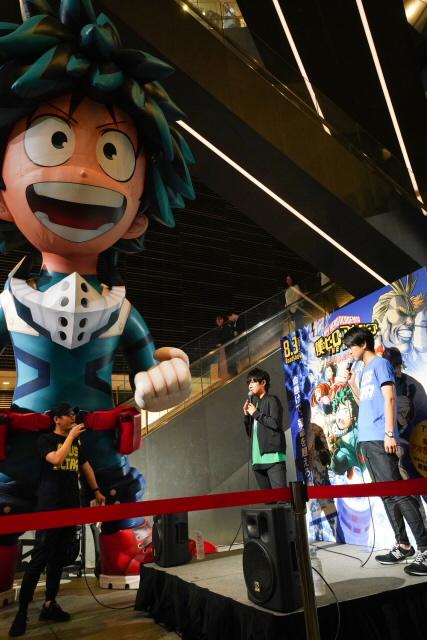 『ヒロアカ』山下大輝・石川界人がゲリラトークショーを実施!