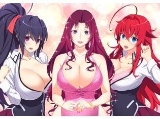 『ハイスクールD×D HERO』×スーパー・セレブリティ「叶美香さん」SPコラボイラスト公開! 叶美香さん、原作者・石踏一榮氏、リアス、朱乃からのコメントも到着