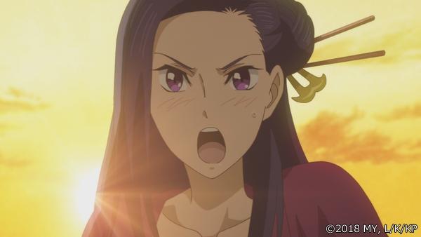 『かくりよの宿飯』第24話「玉の枝サバイバル。」の先行場面カット公開! 葵は銀次、乱丸、チビとともに水墨画の世界に向かう-1