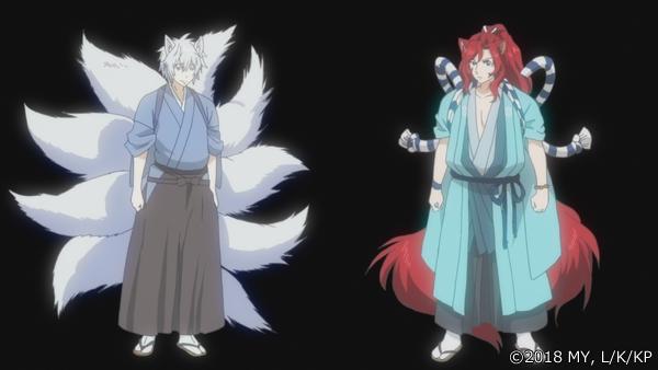 『かくりよの宿飯』第24話「玉の枝サバイバル。」の先行場面カット公開! 葵は銀次、乱丸、チビとともに水墨画の世界に向かう-17