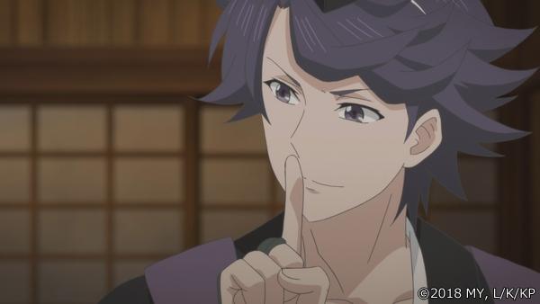 『かくりよの宿飯』第24話「玉の枝サバイバル。」の先行場面カット公開! 葵は銀次、乱丸、チビとともに水墨画の世界に向かう-18