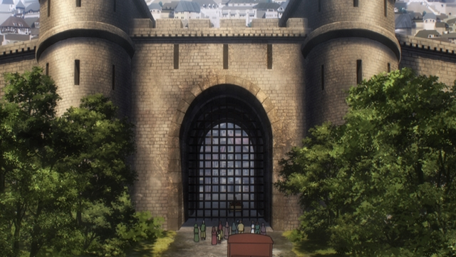 『オーバーロードIII』第3話「エンリの激動かつ慌ただしい日々」の先行場面カット公開! エンリは、検問所であらぬ疑いを……