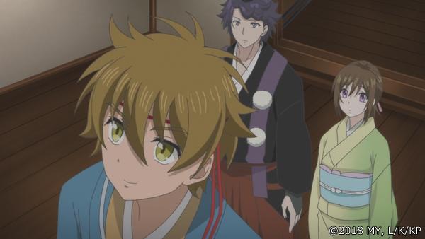 『かくりよの宿飯』第24話「玉の枝サバイバル。」の先行場面カット公開! 葵は銀次、乱丸、チビとともに水墨画の世界に向かう-4