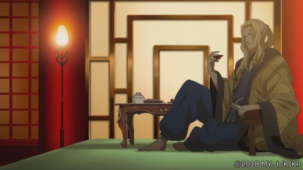 『かくりよの宿飯』第24話「玉の枝サバイバル。」の先行場面カット公開! 葵は銀次、乱丸、チビとともに水墨画の世界に向かう-2