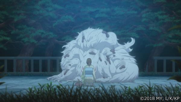 『かくりよの宿飯』第24話「玉の枝サバイバル。」の先行場面カット公開! 葵は銀次、乱丸、チビとともに水墨画の世界に向かう-14