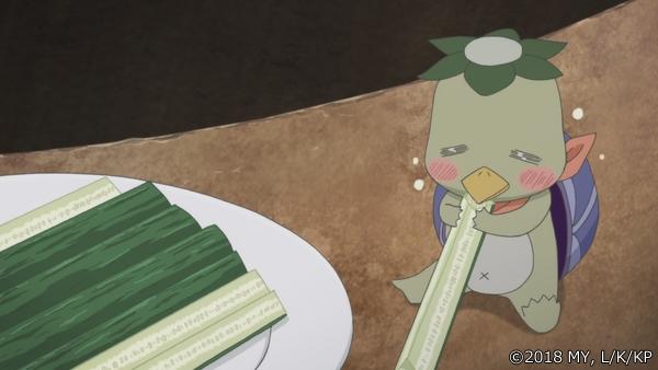 『かくりよの宿飯』第24話「玉の枝サバイバル。」の先行場面カット公開! 葵は銀次、乱丸、チビとともに水墨画の世界に向かう-11