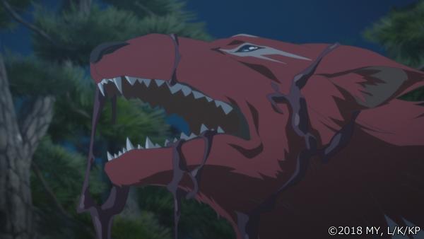 『かくりよの宿飯』第24話「玉の枝サバイバル。」の先行場面カット公開! 葵は銀次、乱丸、チビとともに水墨画の世界に向かう-44