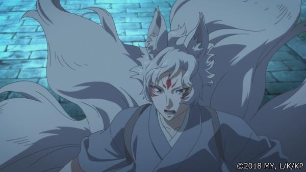 『かくりよの宿飯』第24話「玉の枝サバイバル。」の先行場面カット公開! 葵は銀次、乱丸、チビとともに水墨画の世界に向かう-45
