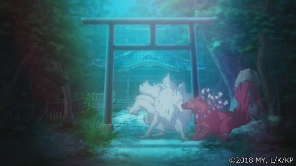 『かくりよの宿飯』第24話「玉の枝サバイバル。」の先行場面カット公開! 葵は銀次、乱丸、チビとともに水墨画の世界に向かう-47