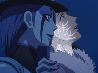TVアニメ『悪偶 -天才人形-』第6話のあらすじ&先行場面カットが公開! 愛たちがヒルソンの事務所で話を聞く中、クリスティ・ロスは愛の部屋へ侵入し……