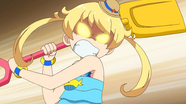 TVアニメ『キラッとプリ☆チャン』第42話先行場面カット・あらすじ到着!りんかのママをりんかと勘違いしたえもとみらいが、番組の生配信を始めてしまい……-15