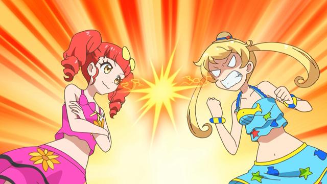 TVアニメ『キラッとプリ☆チャン』第42話先行場面カット・あらすじ到着!りんかのママをりんかと勘違いしたえもとみらいが、番組の生配信を始めてしまい……-17