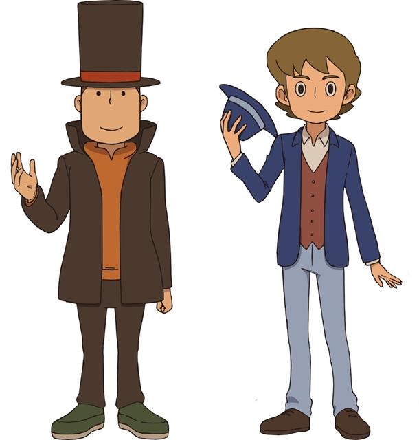 『レイトン ミステリー探偵社』第20話にレイトン教授とルーク再登場