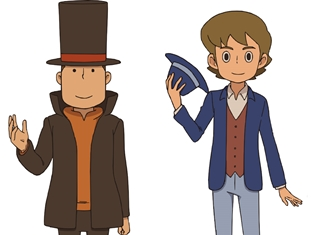 『レイトン ミステリー探偵社 ~カトリーのナゾトキファイル~』第20話にレイトン教授とルークが再登場! あらすじも公開