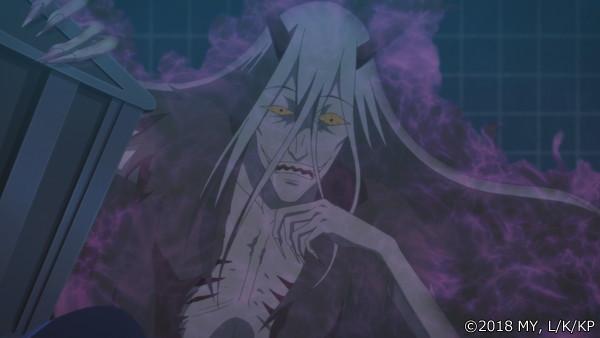 『かくりよの宿飯』第24話「玉の枝サバイバル。」の先行場面カット公開! 葵は銀次、乱丸、チビとともに水墨画の世界に向かう-12