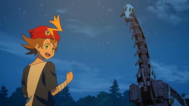 TVアニメ『ゾイドワイルド』第18話あらすじ&先行場面カットが到着! 用心棒をしているソースと再会したアラシ。そこへ怪しい影が動き出す……-12