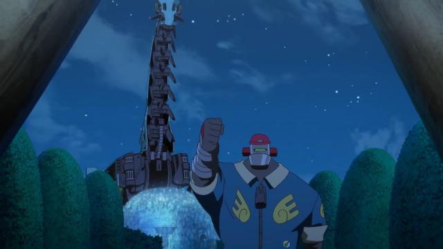 TVアニメ『ゾイドワイルド』第18話あらすじ&先行場面カットが到着! 用心棒をしているソースと再会したアラシ。そこへ怪しい影が動き出す……-13