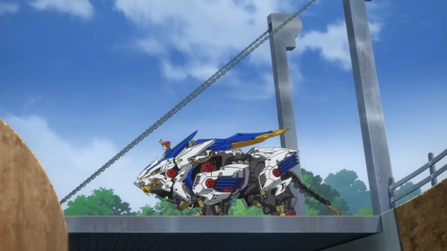 TVアニメ『ゾイドワイルド』第18話あらすじ&先行場面カットが到着! 用心棒をしているソースと再会したアラシ。そこへ怪しい影が動き出す……-17