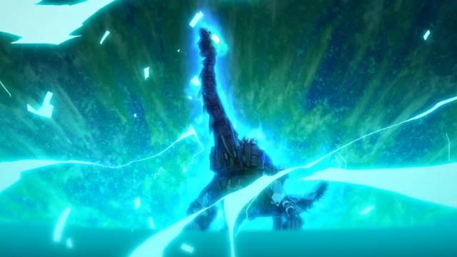 TVアニメ『ゾイドワイルド』第18話あらすじ&先行場面カットが到着! 用心棒をしているソースと再会したアラシ。そこへ怪しい影が動き出す……-26