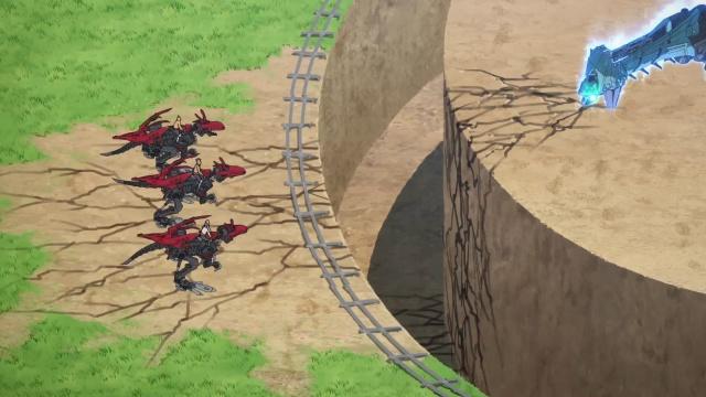 TVアニメ『ゾイドワイルド』第18話あらすじ&先行場面カットが到着! 用心棒をしているソースと再会したアラシ。そこへ怪しい影が動き出す……-30