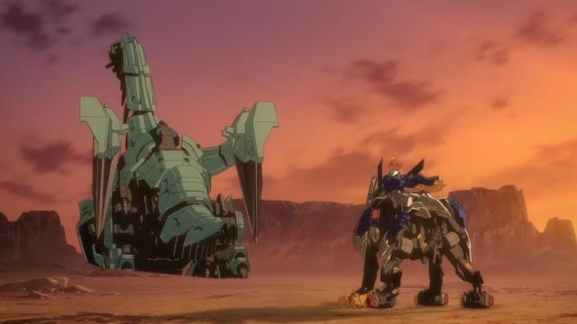 TVアニメ『ゾイドワイルド』第18話あらすじ&先行場面カットが到着! 用心棒をしているソースと再会したアラシ。そこへ怪しい影が動き出す……-33
