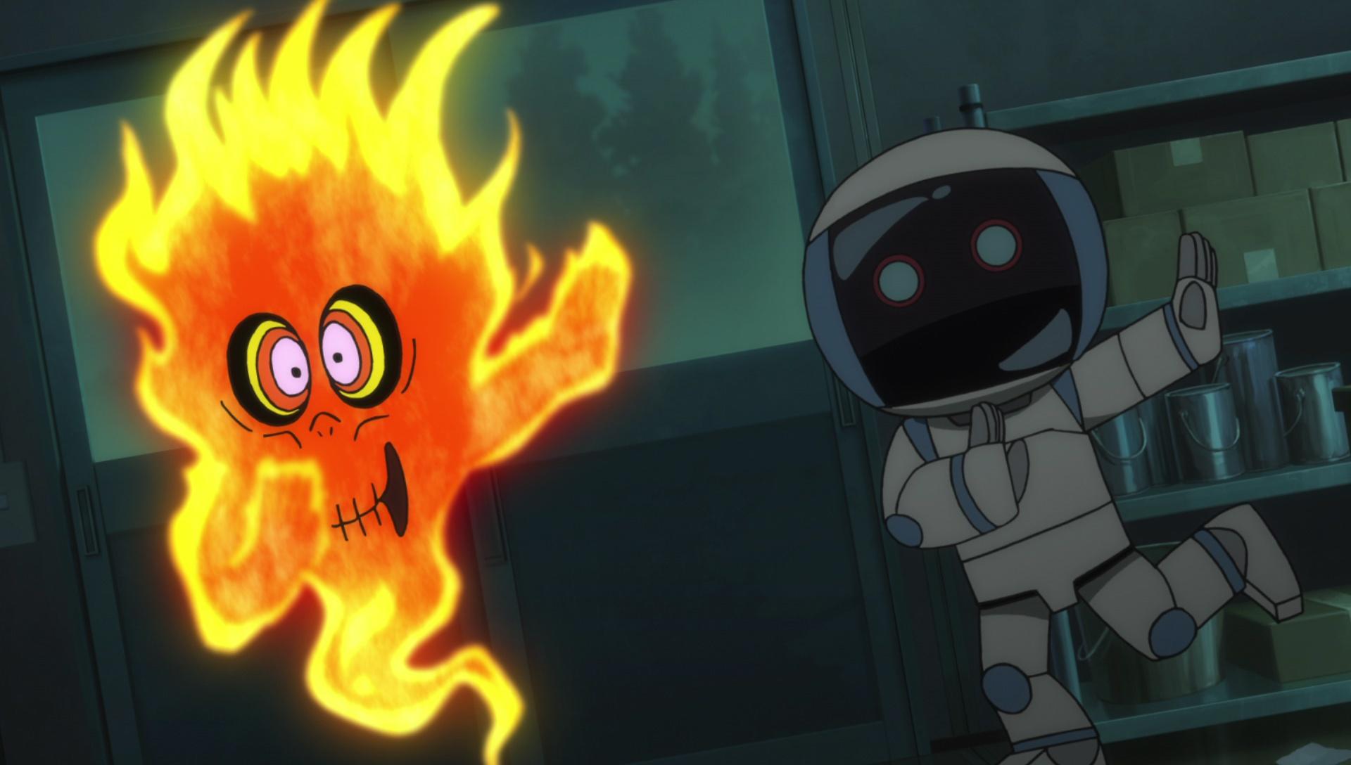 『ゲゲゲの鬼太郎』第40話「終極の譚歌 さら小僧」より先行カット公開! ピン芸人・ビンボーイサムは、さら小僧の唄をネタに……-5