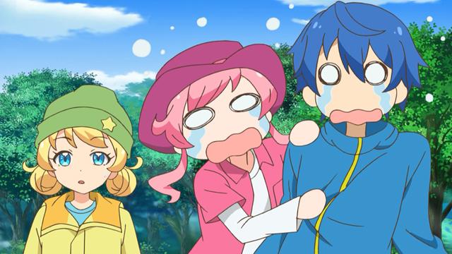 TVアニメ『キラッとプリ☆チャン』第43話先行場面カット・あらすじ到着!いつもの調子で番組にイタズラを仕掛けようとする、デヴィとルゥだったが……-5
