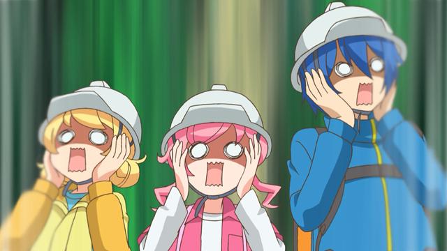 TVアニメ『キラッとプリ☆チャン』第43話先行場面カット・あらすじ到着!いつもの調子で番組にイタズラを仕掛けようとする、デヴィとルゥだったが……-11