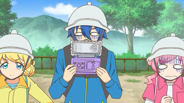 TVアニメ『キラッとプリ☆チャン』第43話先行場面カット・あらすじ到着!いつもの調子で番組にイタズラを仕掛けようとする、デヴィとルゥだったが……-15