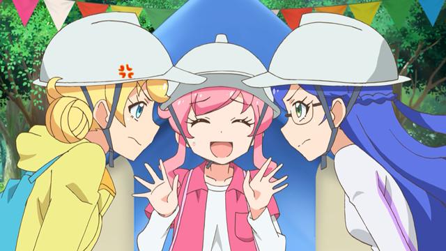 TVアニメ『キラッとプリ☆チャン』第43話先行場面カット・あらすじ到着!いつもの調子で番組にイタズラを仕掛けようとする、デヴィとルゥだったが……-16